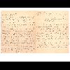 Lettre manuscrite p. 1 et 4  - image/jpeg